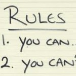 Writing Rules: Don't Be Crazy