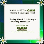 Catch Us if You CAN Spring Hunt Stop #26